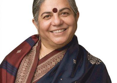 Vandana Shiva, alternatieve nobelprijs-winnaar en autoriteit op het gebied van biodiversiteit