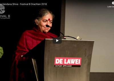 Lezing Vandana Shiva